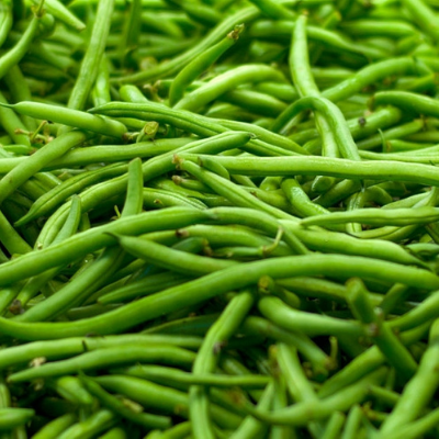 a pile of french bean