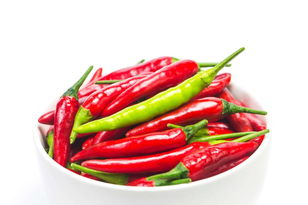 Understanding properties of chili